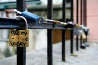 a lock of love