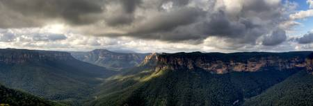 Evans Lookout Blackheath Blue Mountains Australia