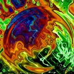 """Chromatoplasmic Vortex 3-D"" by DavidHensenPhotography"