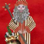 """""""Gold Father Christmas"""" by SeaAngel"""