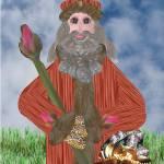 """Rosebud Father Christmas"" by SeaAngel"