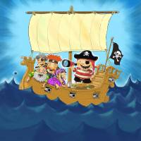 Pirate Ship Art Prints & Posters by Bob McMahon