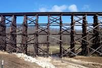 US Army Railroad trestle