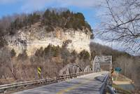 Pikes Peak Bridge near Waynesville, Missouri