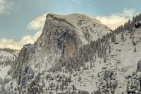 Winter Half Dome