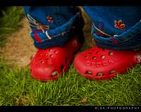 Red Green Blue CROCS