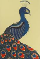 Folk Art Peacock