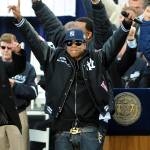 """Jay-Z Celebrating the Yankees Championship"" by Noamg"