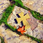 """Cross on Stone"" by luv4pix"