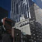"""NYC Side Street Reflection"" by karolsstuff"