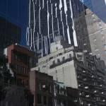 """NYC Side Street Reflection"" by karolsstuff"