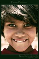 Nepali Girl with amazing eyes close up