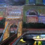 """""""Budapest / Danube River"""" by RickTodaro"""