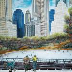 """Central Park Ice Rink"" by MitchellMcClenney"