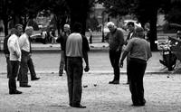 Petanque Players Paris