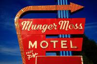 Route 66 - Munger Moss Motel