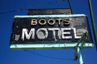 Route 66 - Boots Motel 2010
