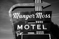 Route 66 - Munger Moss Motel 2010