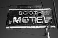 Route 66 - Boots Motel