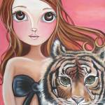 """""Tiger Princess"""" by artbyjaz"