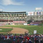"""Rangers Ballpark"" by tate"
