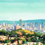 """San Francisco Sunshine by Riccoboni"" by BeaconArtWorksCorporation"