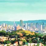 """San Francisco Sunshine by Riccoboni"" by BeaconArtWorksCorporation"