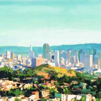 San Francisco Sunshine by Riccoboni Art Prints & Posters by RD Riccoboni