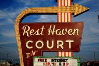 Route 66 - Rest Haven Motel 2010