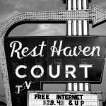 """Route 66 - Rest Haven Motel"" by Ffooter"