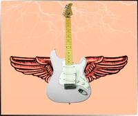 Winged Guitar