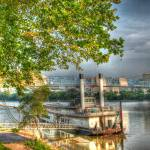 """Riverboat Downtown Scene"" by jwlankford"