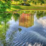 """Reflection on Twin Lakes @ Eden Park"" by jwlankford"
