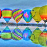 """Hot Air Balloons @ Eden Park"