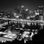 """Pittsburgh Skyline"" by AFSmith"