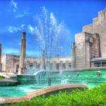 """Main Building & Fountain @ Cincinnati Museum Cente"" by jwlankford"