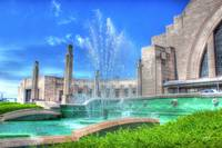Main Building & Fountain @ Cincinnati Museum Cente