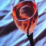 """Glass of White Zinfandel"" by fortunemclemore"