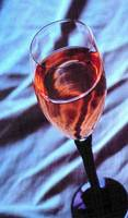Glass of White Zinfandel
