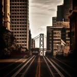 """Bay Bridge from California Street"" by dennisherzog"