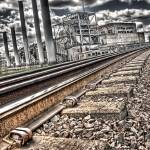"""Tracks at the Seaholm Power Plant"" by CraigAllen"
