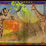 """giraffe montage"" by rchristophervest"