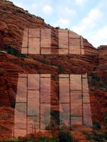 Reflection from Red Rock Chapel