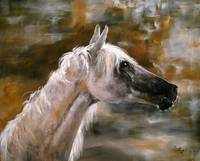 Arabian Original Painting by Ginette