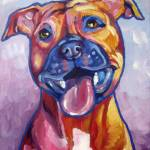 """Pit Bull"" by Morianart"
