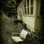 """Chair in grass"" by PerryWebster"