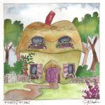"""Day Forty five - English Cottage Apple"" by JenniferVisscher"