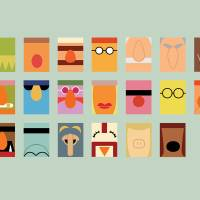 """Minimalist Muppets"" by ericslager"