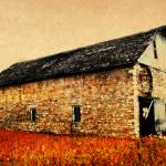 """Lime Stone Barn"" by Juliec21"