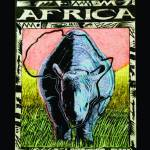 """Africa_frame"" by PinevergreenStudio"